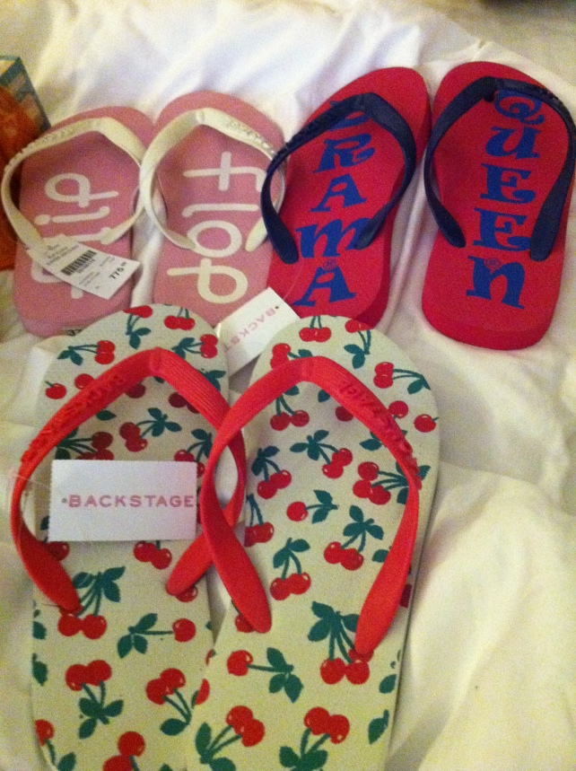 Backstage Slippers from Colombo